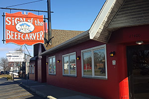 Sign of The Beefcarver, Royal Oak - Restaurant Reviews ...